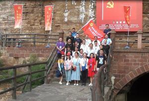 郑州第七十九中学红色之旅国际龙8娱乐老虎机活动